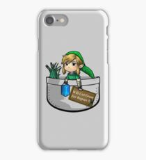 """Zelda """"Will Cut Grass For Rupees"""" iPhone Case/Skin"""