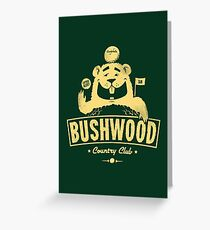 Bushwood (Light) Greeting Card