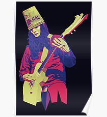 Buckethead - Warm - WPAP Poster