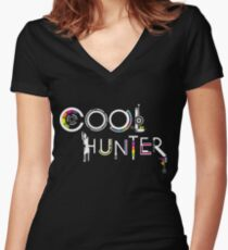 COOLHUNTER Women's Fitted V-Neck T-Shirt