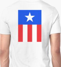 AMERICAN, America, US, USA, Captain America, Star and stripes T-Shirt