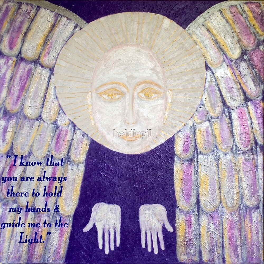 Archangel Gabriel holds my hands Affirmation by heidiypi1