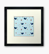 Nautical, Nautical, very Nautical. Framed Print