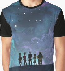 Space Family Graphic T-Shirt