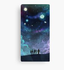 Space Family Canvas Print