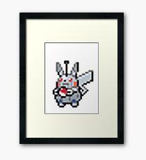 Robot Pikachu Framed Print
