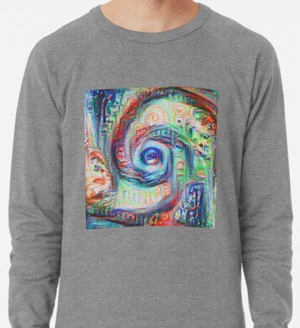 Vortex dragon #DeepDream A Lightweight Sweatshirt