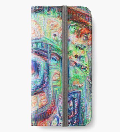 Vortex dragon #DeepDream A iPhone Wallet