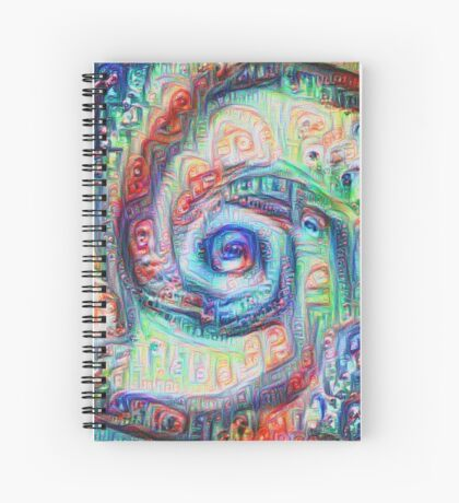 Vortex dragon #DeepDream A Spiral Notebook