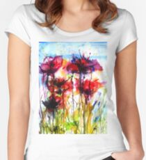 Poppy Love Women's Fitted Scoop T-Shirt