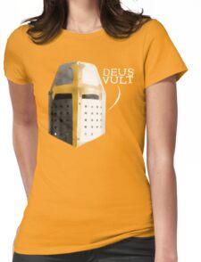 deus vult II Womens Fitted T-Shirt