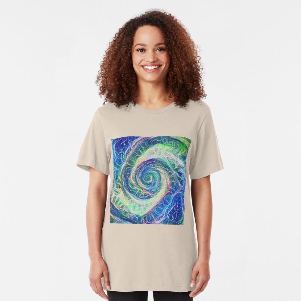 Vortex dragon #DeepDream B Slim Fit T-Shirt