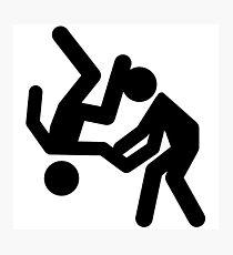 judo - Aikido Photographic Print