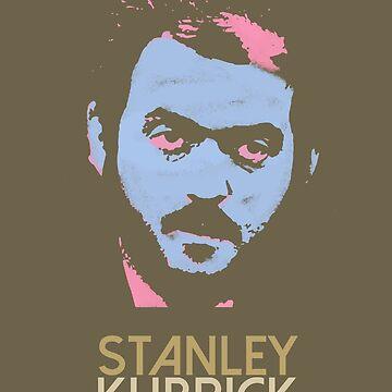 Stanley Kubrick Stylized by cbdata