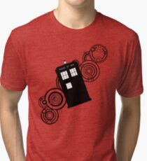 doctor who tardis r Tri-blend T-Shirt