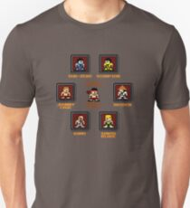 8-bit Mortal Kombat 'Megaman' Stage Select Screen Unisex T-Shirt