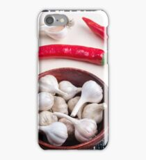 Spice background for cooking iPhone Case/Skin
