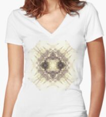Glyph 39 Women's Fitted V-Neck T-Shirt