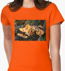 Colorful Fungus Womens Fitted T-Shirt
