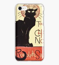 Theophile Alexandre Steinlen - Tournee Du Chat Noir De Rodolphe Salis  iPhone Case/Skin