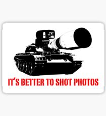 canon cannon better to shot photos Sticker