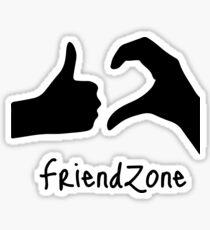 Funny Friendzone Stickers | Redbubble