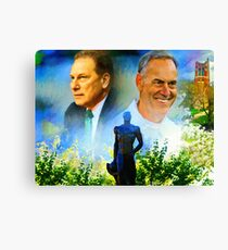 Tom Izzo N Mark Dantonio Canvas Print