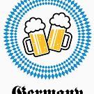 Germany 2 Beer (Munich Bavaria) by MrFaulbaum