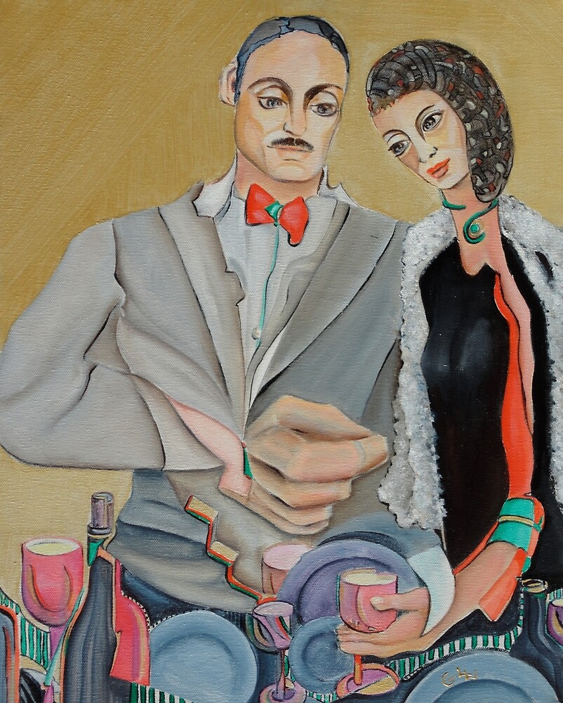 Engaged Couple by Giselle Luske