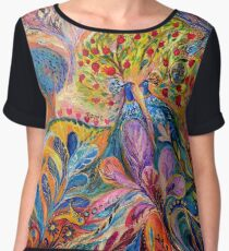 The Trees of Eden Chiffon Top