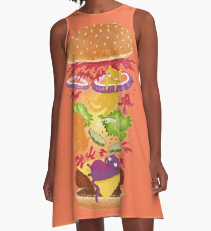Cat Burger A-Line Dress