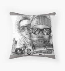 Born to Be Wild Throw Pillow