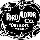 Old Ford Motors Logo by Traut