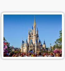 Magic Kingdom Castle Sticker
