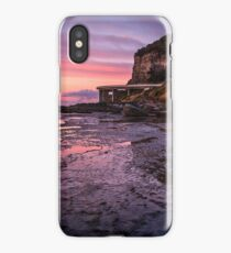 Sea Cliff Road at dawn iPhone Case