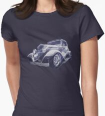 32 Ford Coupe Sketch of a Classic Street Rod T-Shirt