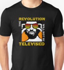 REVOLUTION WILL NOT BE TELEVISED GIL SCOTT HERON (SUMMER) T-Shirt