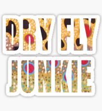 Dry Fly Junkie Sticker