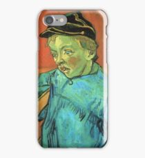 Vincent Van Gogh -  Schoolboy (Camille Roulin), 1888 iPhone Case/Skin