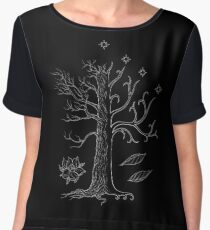 The White Tree of Gondor Chiffon Top