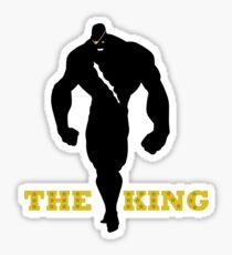 The King of Muay Thai Sticker