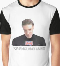 GoldenEye 007 For England James Graphic T-Shirt