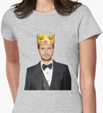 Lord Disick | Crown Emoji Women's Fitted T-Shirt