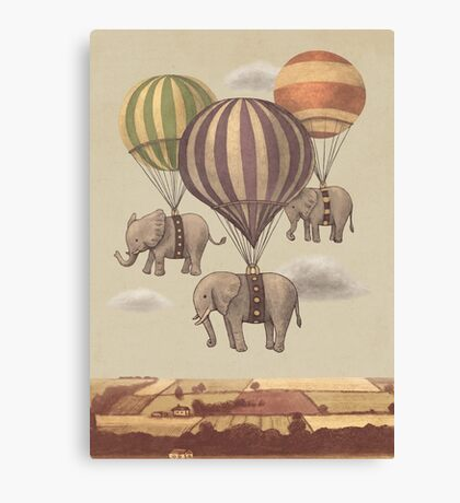Flight of The Elephants  Canvas Print