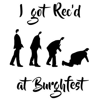 I got Rec'd at Burghfest (Black) by burghfieldfripp