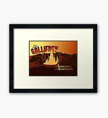 Visit Timeless Gallifrey (New) Framed Print