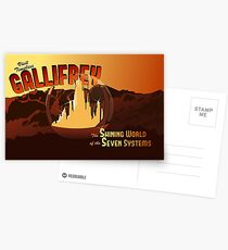 Visit Timeless Gallifrey (New) Postcards