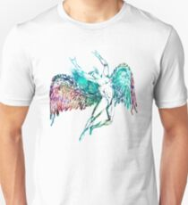 ICARUS THROWS THE HORNS - WATERCOLOR ***FAV ICARUS GONE? SEE BELOW*** T-Shirt