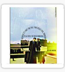 Sherlock And Moriarty  Sticker