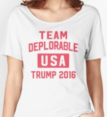 Team Deplorable Women's Relaxed Fit T-Shirt